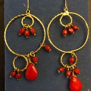 BoHo Red and Gold